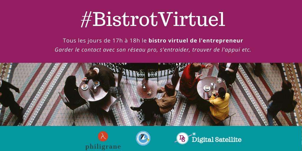 bistrot virtuel de l'entrepreneur et du freelance covid19
